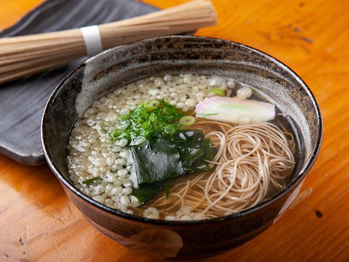 ⾺籠に来たらこれ⾷べて!そば素麺
